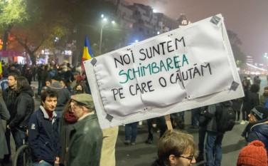 Proteste 8 noiembrie 2015 - foto: Eugen Horoiu / Epoch Times România