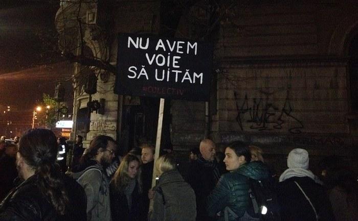 Proteste 9 noiembrie 2015, Bucuresti, Piata Universitatii - foto: Epoch Times România