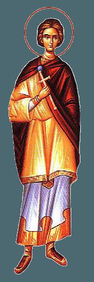 Sfântul Mucenic Roman diaconul. Prăznuirea sa în Biserica Ortodoxă se face la 18 noiembrie - foto: doxologia.ro