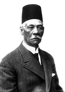Saad Zaghloul, (1859 – 23 August 1927) was an Egyptian revolutionary, and statesman. Zaghloul was the leader of Egypt's nationalist Wafd Party. He served as Prime Minister of Egypt from 26 January 1924 to 24 November 1924 - foto: en.wikipedia.org