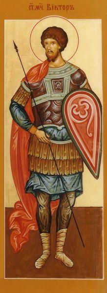 Sfântul Mucenic Victor. Prăznuirea sa de către Biserica Ortodoxă se face la data de 11 noiembrie - foto: doxologia.ro