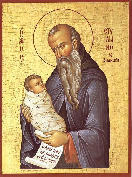 Sf. Cuv. Stelian Paflagonul (26 noiembrie) - foto preluat de pe ro.orthodoxwiki.org