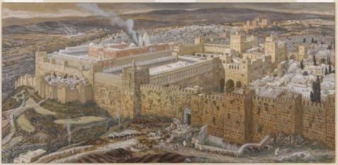 Reconstituirea Templului e la Ierusalim - foto: cersipamantromanesc.wordpress.com