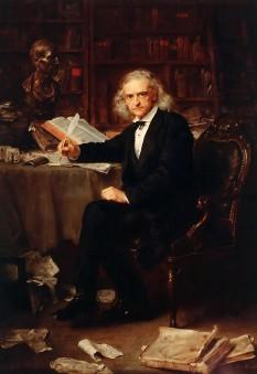 Theodor Mommsen (n. 30 noiembrie 1817 Garding, în sudul provinciei Schleswig - d. 1 noiembrie, 1903), istoric și jurist german, laureat al Premiului Nobel pentru Literatură în 1902. foto (Theodor Mommsen în 1881): ro.wikipedia.org