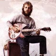 Tom Fogerty (n. 9 noiembrie 1941, Berkeley, California - d. 6 septembrie 1990, Scottsdale, Arizona), muzician, cel mai cunoscut ca și chitarist în Creedence Clearwater Revival dar și ca fratele mai în vârstă al lui John Fogerty, vocalistul și principalul chitarist al trupei - foto: rickresource.com