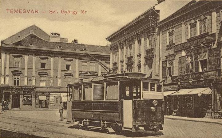 Tramvaiul electric din Timișoara - 1899 - foto: ro.wikipedia.org