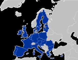 Harta Uniunii Europene foto: ro.wikipedia.org