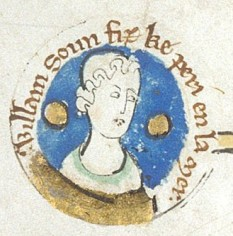 William Ætheling (5 August 1103 – 25 November 1120), designated or titled Adelin (alternately rendered as Adelinus, Adelingus, A(u)delin or other Latinized Norman-French variants of Ætheling), was the son of Henry I of England by his wife Matilda of Scotland, and was thus heir apparent to the throne. His early death without issue caused a succession crisis, known in history as The Anarchy - foto: en.wikipedia.org