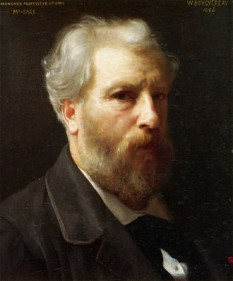 William Adolphe Bouguereau (30 noiembrie 1825 – 19 august 1905), pictor academic francez  foto - William-Adolphe Bouguereau, autoportret (1886): ro.wikipedia.org