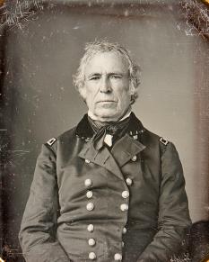 """Zachary Taylor (n. 24 noiembrie 1784 - d. 9 iulie 1850), cunoscut ca și """"Old Rough and Ready"""", cel de-al doisprezecelea președinte al Statelor Unite ale Americii, fiind în funcție între 1849 și 1850 - foto: ro.wikipedia.org"""