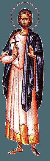Sfântul Mucenic Zaheu diaconul. Prăznuirea sa în Biserica Ortodoxă se face la 18 noiembrie - foto: doxologia.ro