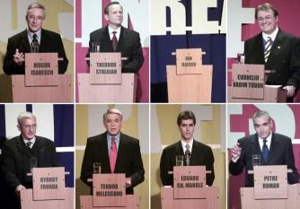 26 noiembrie 2000: Au avut loc alegeri parlamentare si prezidentiale in Romania foto: mediafax (catalin lutu)
