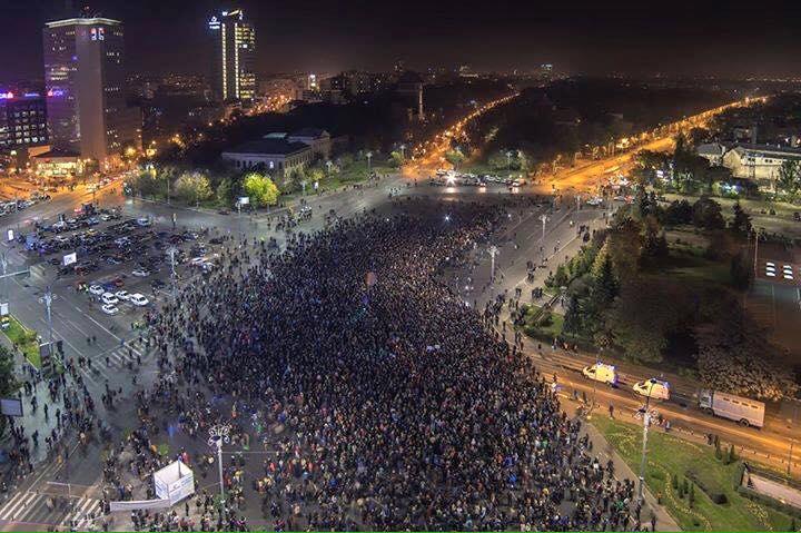 Proteste 4 noiembrie 2015; Bucuresti foto: Irina Păcurariu