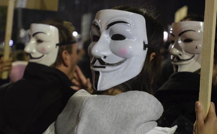 Proteste 4 noiembrie 2015; Bucuresti foto: Epoch Times România