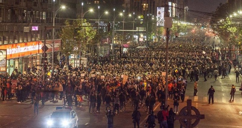 Proteste noiembrie 2015 foto: Vlad Petri