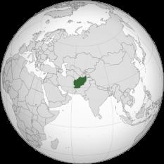 Amplasarea Afganistanului - foto: ro.wikipedia.org