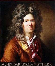 Antoine Houdar de La Motte (n. 18 ianuarie 1672 - d. 26 decembrie 1731), dramaturg și teoretician literar francez - foto: ro.wikipedia.org