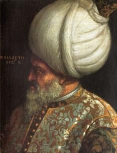 Baiazid al II-lea (n. 3 decembrie 1447 - d. 26 mai 1512), sultan otoman ce a domnit în perioada 1481 - 1512, fiul lui Mahomed al II-lea - foto:  ro.wikipedia.org