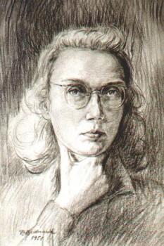 Beatrice Bednarik (n. 14 decembrie 1922, București), pictoriță și graficiană română, cercetătoare de istorie a artei la Muzeul Național de Artă - foto (Beatrice Bednarik, Autoportret): ro.wikipedia.org