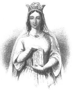 Berengaria de Navara  (c. 1165–1170 – 23 decembrie 1230), regină a Angliei, soția regelui Richard I al Angliei. A fost fiica cea mare a regelui Sancho al VI-lea de Navara și a reginei Sancha de Castilia - foto: ro.wikipedia.org