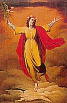 Sf. Bibiana, fecioară (?-363) este numită şi Viviana, dar adevăratul nume ar trebui să fie Viniana, aceasta fiind forma feminină a numelui etrusc Vinianus, nume al cărui înţeles nu este cunoscut - foto: calendarcatolic.ro