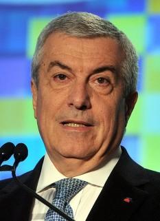Călin Constantin Anton Popescu-Tăriceanu (n. 14 ianuarie 1952, București), om politic român, prim-ministru al României între 28 decembrie 2004 și 22 decembrie 2008, președinte al Partidului Național Liberal din 2005 până în 2009 - foto: ro.wikipedia.org