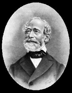 Carl Zeiss (n. 11 septembrie 1816, Weimar – d. 3 decembrie 1888, Jena), inginer mecanic și un întreprinzător german. El a întemeiat în noiembrie 1846 Firma Carl Zeiss  foto:  ro.wikipedia.org