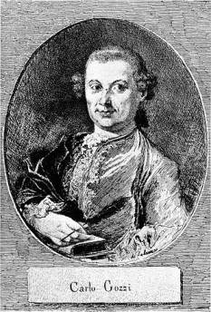 Carlo Gozzi (n. 13 decembrie 1720, d. 4 aprilie 1806), dramaturg italian  foto: ro.wikipedia.org