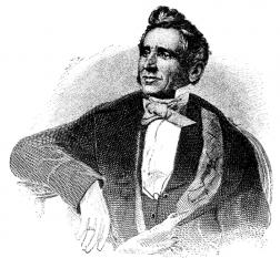 Charles Goodyear (n. 29 decembrie 1800 - d. 1 iulie 1860), inventator american, cunoscut pentru faptul că în 1839 a descoperit un procedeu de vulcanizare a cauciucului. Ulterior, a perfecționat acest procedeu și l-a patentat la data de 15 iunie 1844 - foto: ro.wikipedia.org