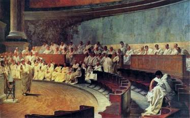 Marcus Tullius Cicero (n. 3 ianuarie 106 î.Hr. – d. 7 decembrie 43 î.Hr.), filozof, politician, jurist, orator, teoritician politic, consul şi constituţionalist roman - foto:  ro.wikipedia.org
