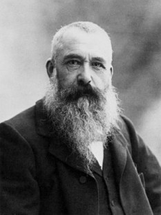 Oscar-Claude Monet (n. 14 noiembrie 1840, Paris – d. 5 decembrie 1926, Giverny), pictor impresionist din Franța - foto (Portrait photograph of the French impressionist painter Claude Monet by Nadar):  ro.wikipedia.org