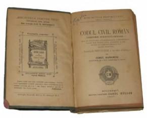 Codul Civil din 1864 - foto: istorie-pe-scurt.ro