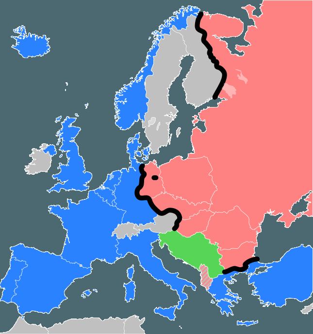 Cortina de fier - foto preluat de pe ro.wikipedia.org