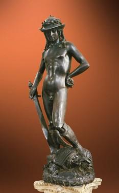 Donatello: David ca. 1440 - Museo Nazionale del Bargello, Florenţa - foto: ro.wikipedia.org