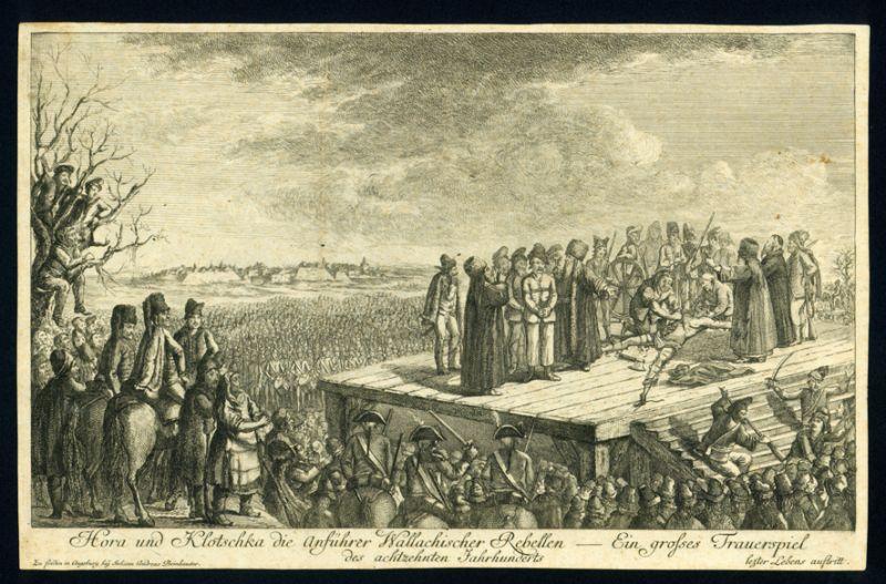Execuţia lui Horea și Cloșca - foto preluat de pe ro.wikipedia.org