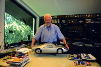 "Ferdinand Alexander Porsche (11 December 1935 – 5 April 2012),[1] nicknamed ""Butzi"", son of Ferry Porsche, grandson of Ferdinand Porsche, was a German-Austrian designer whose best known product was the first Porsche 911 - foto: autoviva.com"