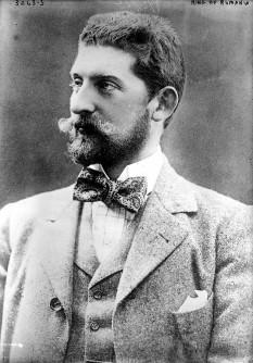 Ferdinand I de Hohenzollern-Sigmaringen (n. 12/24 august 1865, Sigmaringen - d. 20 iulie 1927, Castelul Peleș, Sinaia) al doilea rege al României, din 10 octombrie 1914 până la moartea sa foto: ro.wikipedia.org