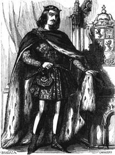 Ferdinand al IV-lea al Castiliei (în spaniolă: Fernando IV de Castilla, 6 decembrie 1285 Sevilla - 7 septembrie 1312 Jaén), rege al Castiliei și al Leonului între anii 1295-1312 - foto (Ferdinand al IV-lea al Castiliei, gravură din 1850):  ro.wikipedia.org
