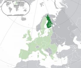 Amplasarea Finlandei - foto:  ro.wikipedia.org