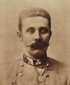 Arhiducele Franz Ferdinand al Austriei (n. 18 decembrie 1863, Graz – d. 28 iunie 1914, Sarajevo), Arhiduce de Austria, din 1896 - foto:  ro.wikipedia.org