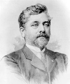 Alexandre Gustave Eiffel (n. 15 decembrie 1832, Dijon – d. 27 decembrie 1923, Paris), inginer francez, cunoscut în special pentru realizarea Turnului Eiffel care îi poartă numele - foto: ro.wikipedia.org
