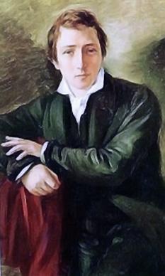 Christian Johann Heinrich Heine (numele la naștere Harry Heine), (n. 13 decembrie 1797, Düsseldorf – d. 17 februarie 1856, Paris), poet și prozator german - foto (Heinrich Heine, pictat de Moritz Daniel Oppenheim): ro.wikipedia.org