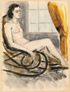 "Henri Catargi – ""Femeie pe balansoar"" - foto: g1b2i3.wordpress.com"