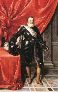 """Henri de Bourbon (denumit și Henric cel Mare (Henri le Grand) iar în regiunea lui de baștină, Gasconia, unde era iubit, era numit și """"regele nostru Henric"""" (13 decembrie 1553 – 14 mai 1610), rege al Navarei (1572-1610) și rege al Franței (1589-1610), primul rege din familia de Bourbon - foto:  ro.wikipedia.org"""