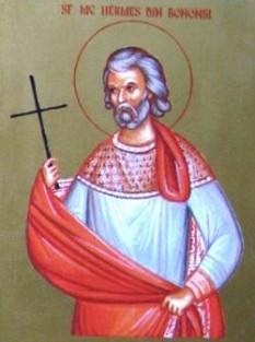 Sfântul Mucenic Hermes. Biserica Ortodoxă il prăznuiește la data de 31 decembrie - foto preluat de pe doxologia.ro