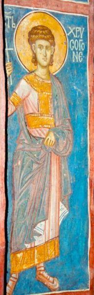 Sfântul Mucenic Hrisogon a trăit pe vremea împăratului Diocleţian şi era din marea cetate a Romei. Prăznuirea sa se face în Biserica Ortodoxă Română pe 22 decembrie - foto: doxologia.ro