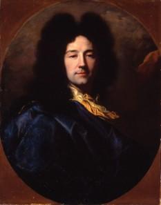 Hyacinthe Rigaud (18 iulie 1659 – 29 decembrie 1743), pictor baroc francez de orgine catalană care a făcut carieră la Paris - foto (Hyacinthe Rigaud, Autoportret): ro.wikipedia.org