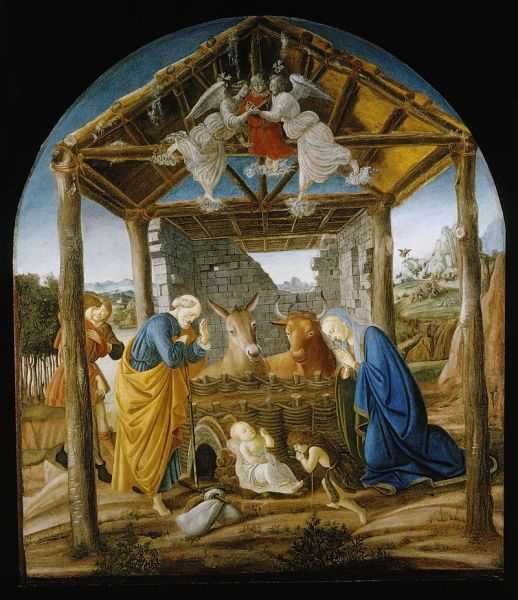 Nativity of Jesus, by Botticelli - foto: en.wikipedia.org