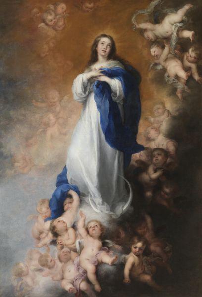 'Concepția Imaculată'. Pictură de Bartolomé Esteban Murillo - foto: ro.wikipedia.org
