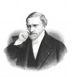 Jean-Victor Poncelet (n. 1 iulie 1788 - d. 22 decembrie 1867), matematician, inginer francez și director al celebrului institut de învățământ superior, École Polytechnique. Prin contribuțiile sale, a revigorat domeniul geometriei proiective, al cărui pionier a fost Gérard Desargues - foto: ro.wikipedia.org